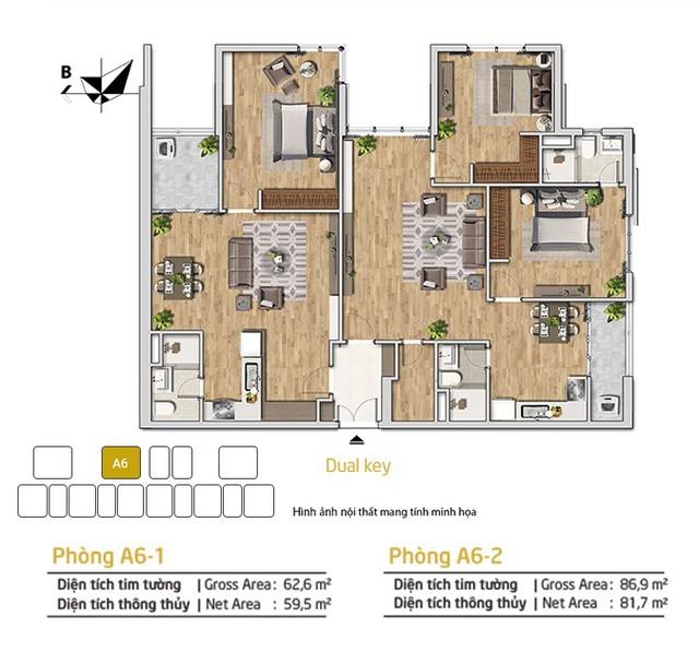 Khám phá căn hộ chung cư Dual-key đa tiện ích ở dự án Amber Riverside - Ảnh 1.