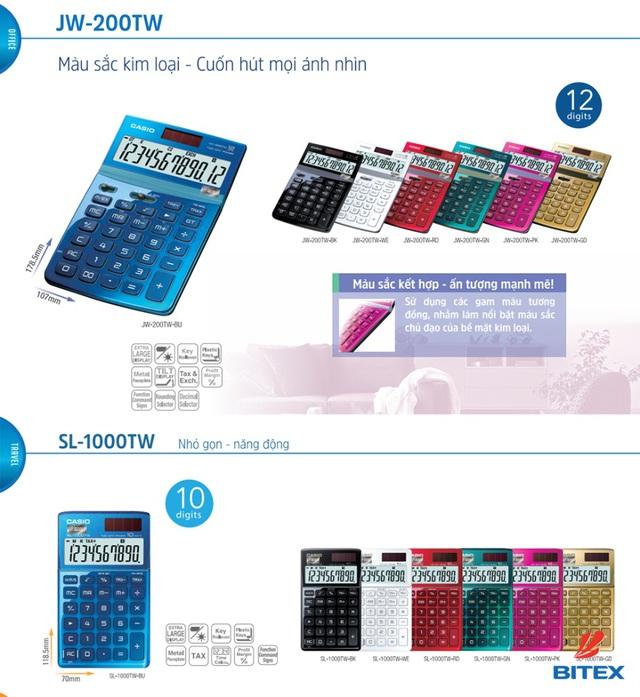 """Kế toán, kinh doanh """"phát sốt"""" với máy tính Casio sắc màu - Ảnh 2."""