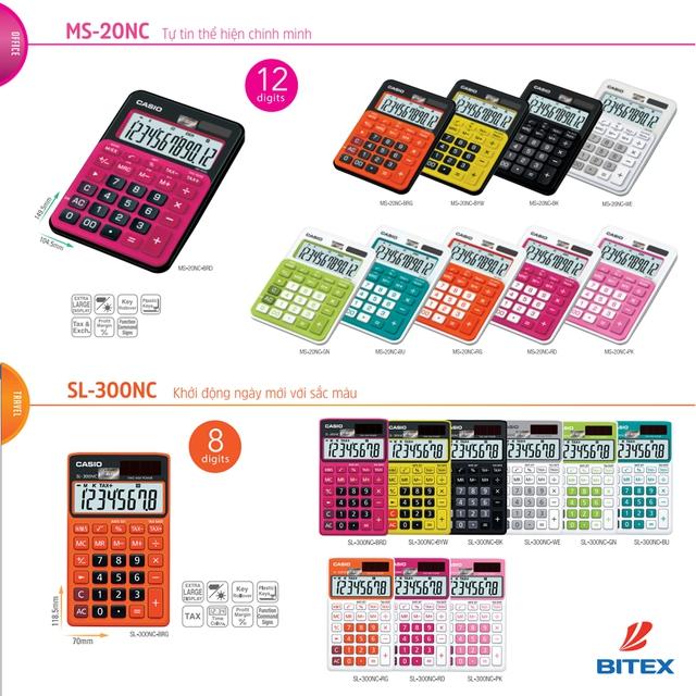 """Kế toán, kinh doanh """"phát sốt"""" với máy tính Casio sắc màu - Ảnh 3."""
