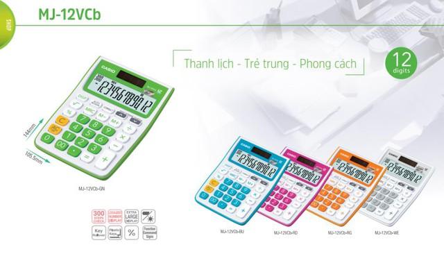 """Kế toán, kinh doanh """"phát sốt"""" với máy tính Casio sắc màu - Ảnh 5."""