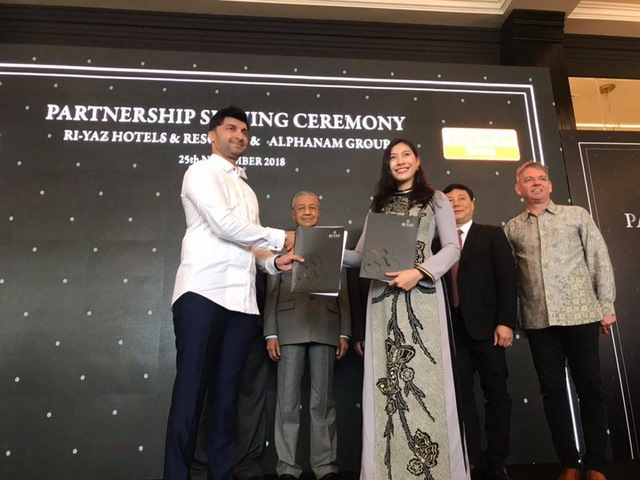 """Alphanam mở rộng hợp tác có """"ngôi sao"""" ngành khách sạn Malaysia - Ảnh 2."""