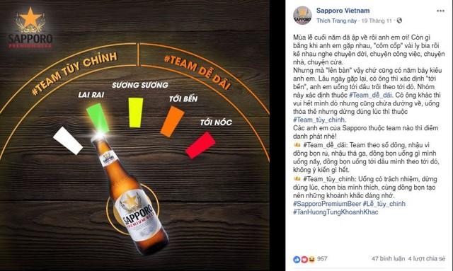 Sapporo – Bia đỉnh cho văn hóa uống bia tùy chỉnh - Ảnh 1.