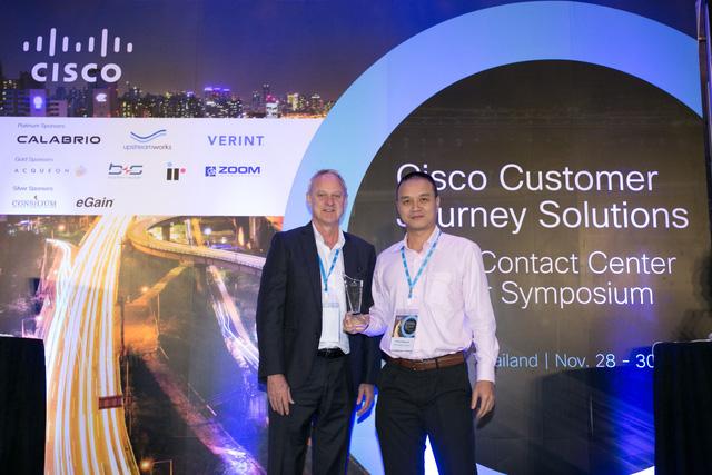 """Công ty Base Business Solutions nhận giải thưởng của Cisco tại """"APJC Contact Center Partner Symposium 2018"""" - Ảnh 1."""