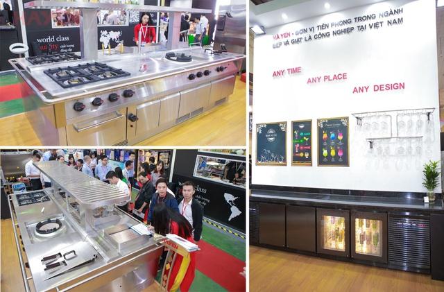 Hà Yến tham dự triển lãm Food&Hotel Hà Nội 2018 - Ảnh 1.