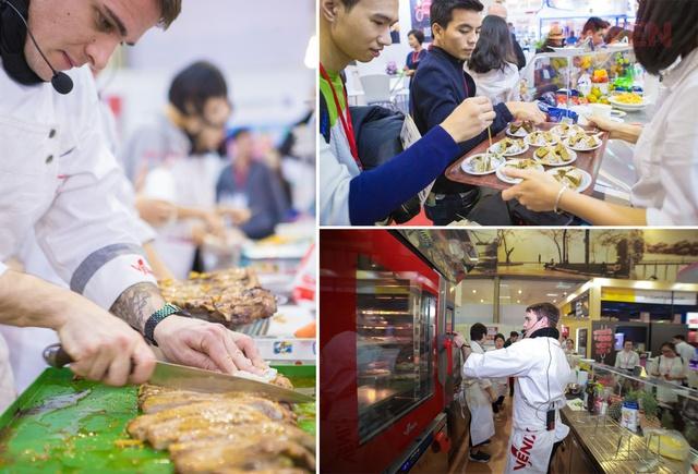 Hà Yến tham dự triển lãm Food&Hotel Hà Nội 2018 - Ảnh 2.