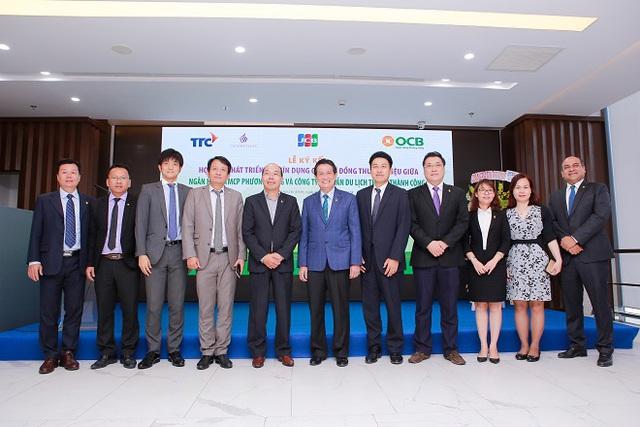 Thành Thành Công hợp tác triển khai thẻ tín dụng quốc tế đồng thương hiệu OCB TTC Hospitality JCB Platinum - Ảnh 1.