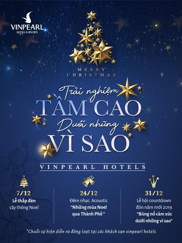 """""""Trải nghiệm tầm cao dưới những vì sao"""" tại chuỗi khách sạn Vinpearl Hotels - Ảnh 1."""