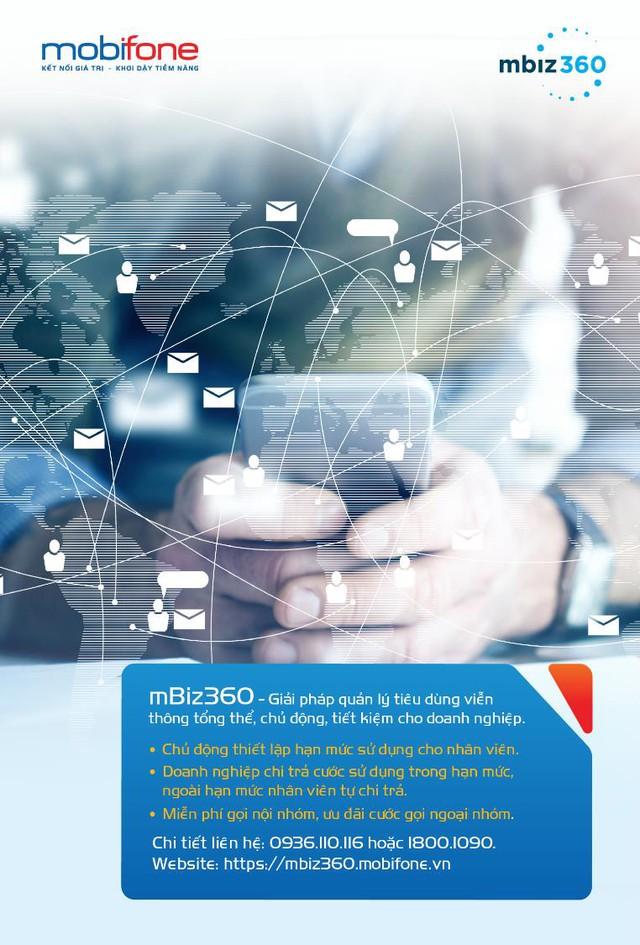 Quản lý cước điện thoại trong doanh nghiệp - mbiz360 được tin dùng nhờ ưu thế vượt trội - Ảnh 1.