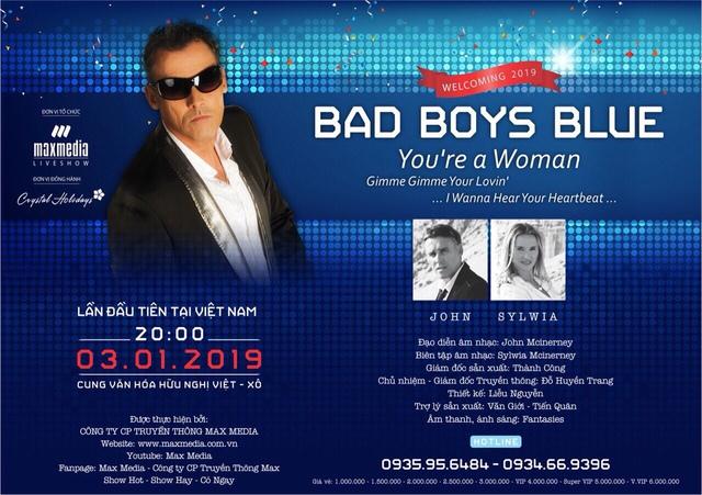 Huyền thoại Bad Boys Blue trở lại, Crystal Holidays tặng khách hàng đêm nghỉ dưỡng cao cấp - Ảnh 1.
