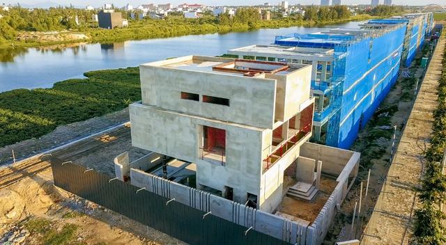 Hình ảnh thực tế ghi nhận tại dự án biệt thự nghỉ dưỡng triệu đô One River Villas.