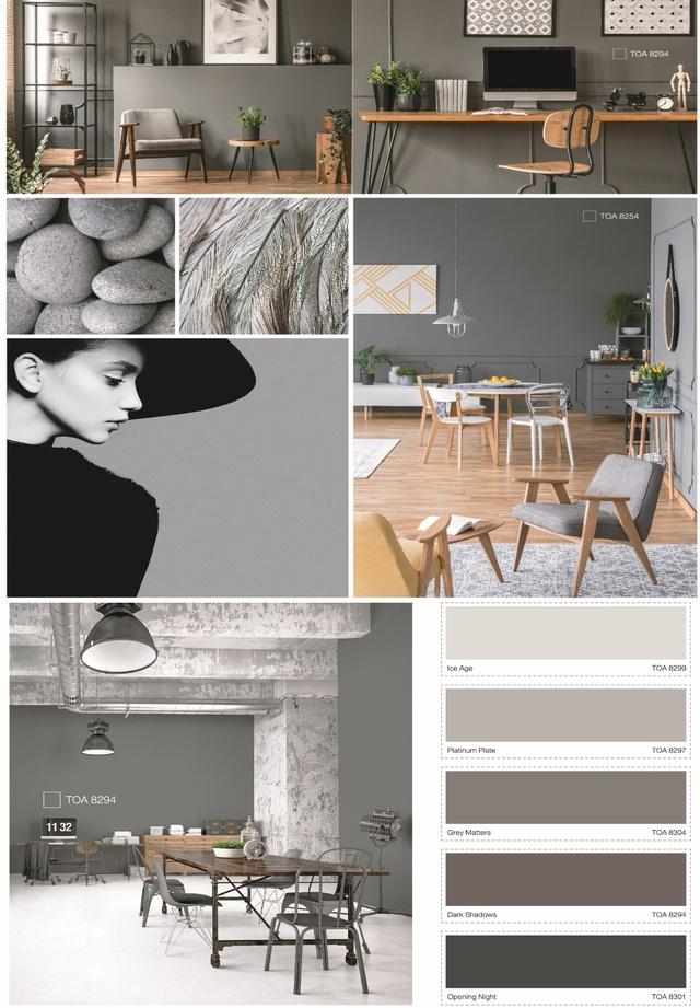 Xu hướng sắc màu năm 2019 - TOA The Color Story - Ảnh 6.