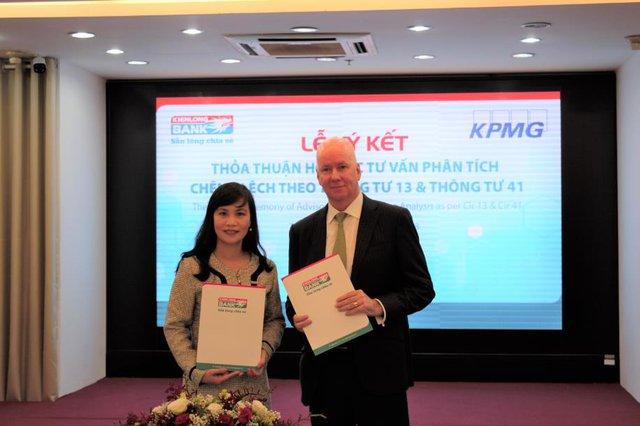 KPMG và Kienlongbank ký kết thỏa thuận hợp tác tư vấn - Ảnh 1.