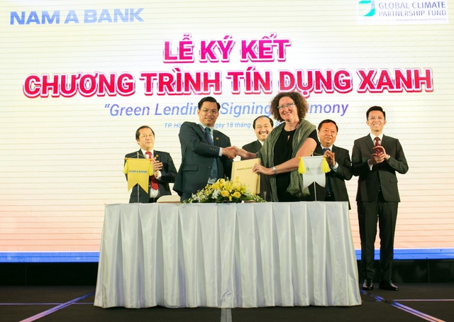 """Nam A Bank công bố dự án cộng đồng """"Tôi chọn sống xanh"""" - Ảnh 1."""