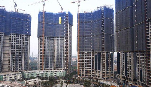 Liên tiếp cất nóc vượt tiến độ, Sunshine City Hà Nội tăng tốc vào cuối năm - Ảnh 1.