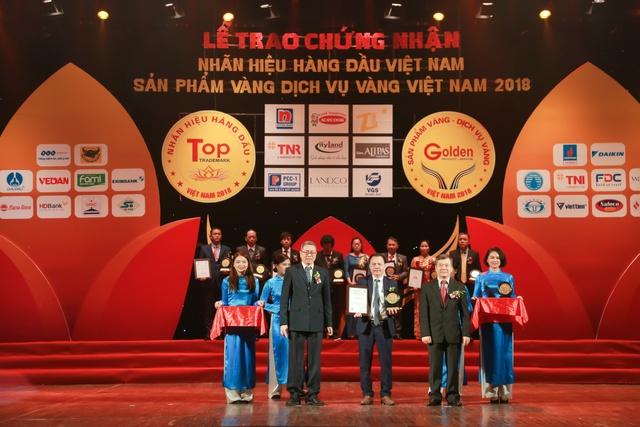 CTCP Landco đoạt giải Top 20 Sản phẩm vàng, Dịch vụ vàng Việt Nam 2018 - Ảnh 1.