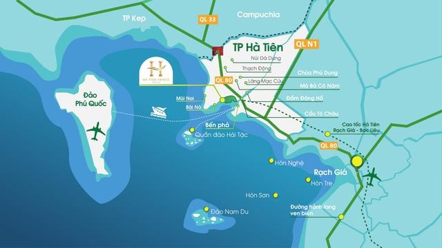 Hàng loạt dự án lớn đổ bộ về Hà Tiên - Ảnh 1.