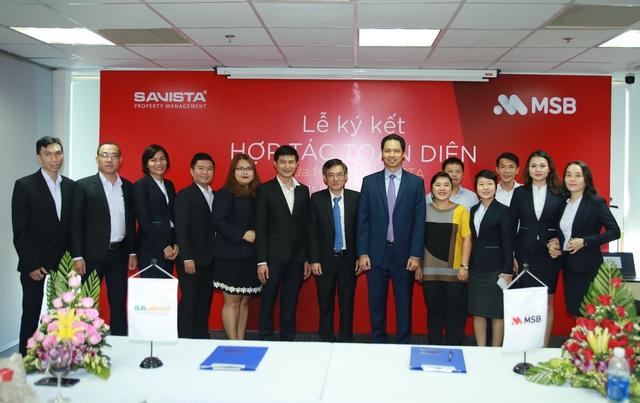 MSB cung cấp giải pháp tài chính toàn diện cho khách hàng của Savista - Ảnh 2.