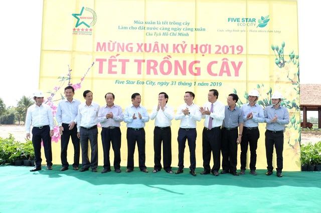 Five Star Eco City tài trợ 4 tỷ đồng xây cầu qua khu di tích tỉnh Long An - Ảnh 2.