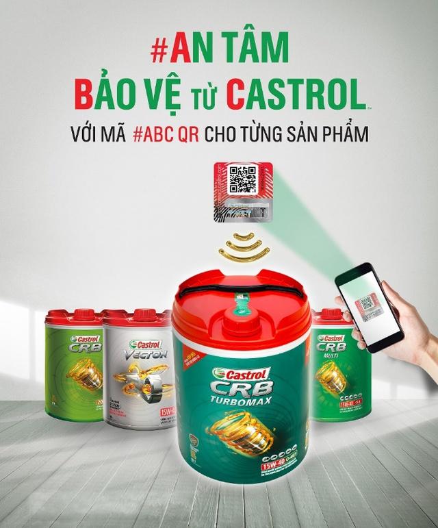 Mã #ABC QR - Giải pháp xác thực hàng hóa từ Castrol mang đến nhiều giá trị cộng thêm cho người tiêu dùng - Ảnh 1.
