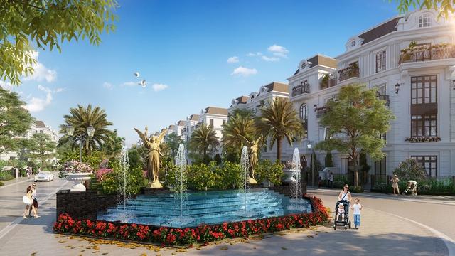 Xuất hiện dự án biệt thự, liền kề phong cách Pháp tại trung tâm Long Biên - Ảnh 1.
