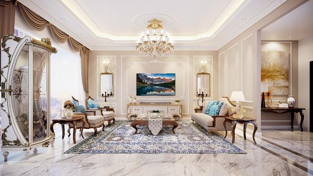 3 phong cách phòng khách sang trọng nhờ TV siêu mỏng - Ảnh 2.