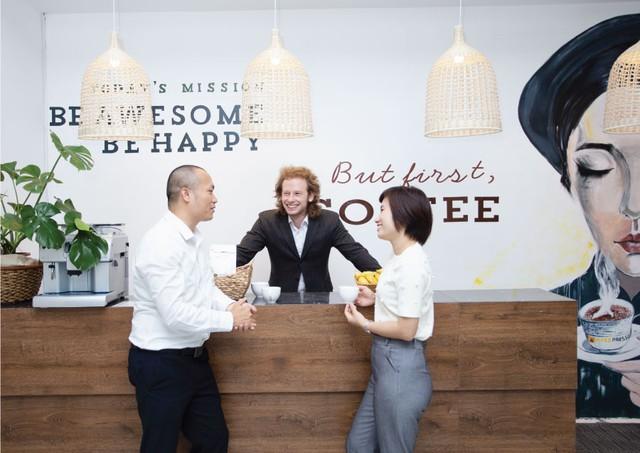 """Apec Young & Joy Office - Văn phòng """"Resort"""" của công ty """"hạnh phúc"""" - Ảnh 2."""