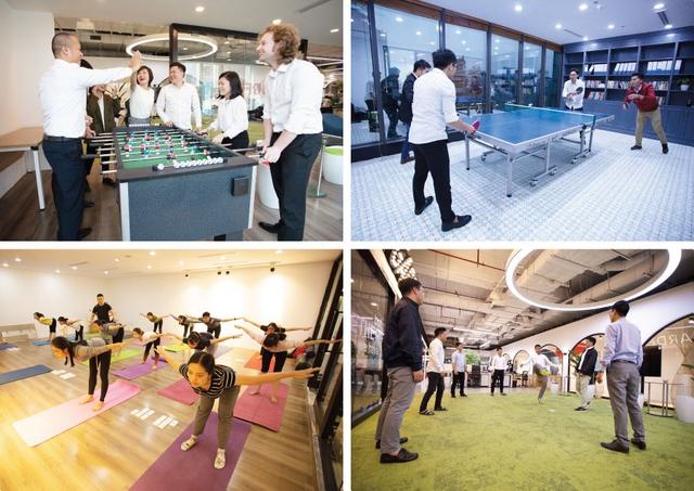 """Apec Young & Joy Office - Văn phòng """"Resort"""" của công ty """"hạnh phúc"""" - Ảnh 7."""