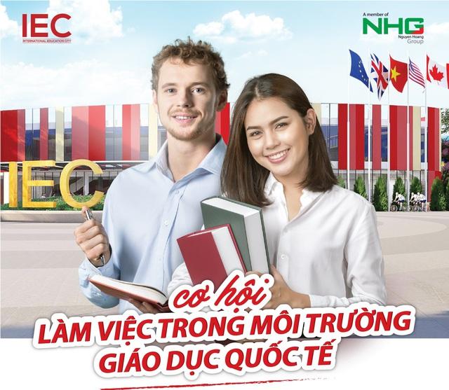 IEC Quảng Ngãi: Môi trường làm việc lấy con người làm trung tâm - Ảnh 1.