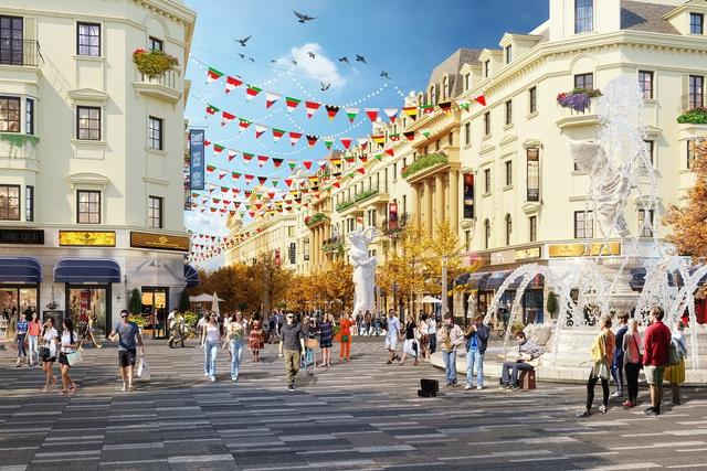 Mối duyên kiến trúc và thời trang ở tiểu khu Elysee - nhà phố Europe - Ảnh 1.