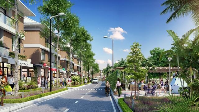 Tuyến đường 27m khánh thành hỗ trợ tích cực cho hoạt động kinh doanh tại An Phú Shop–villa - Ảnh 1.