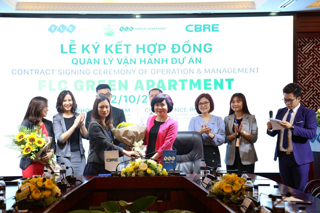 Hoàn tất công tác dự tính cùng CBRE, FLC Green Apartment sẵn sàng bàn giao 1 số căn hộ chung cư Thứ nhất - Ảnh 1.