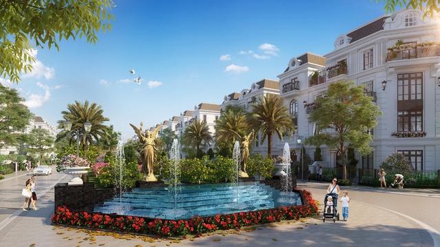 Không gian sống đậm chất nghệ thuật Elegant Park Villa