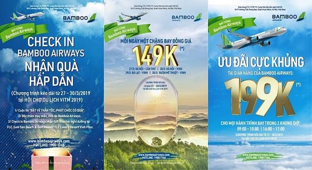 Cơ hội mua hàng ngàn vé máy bay với giá từ 149.000 VND của Bamboo Airways - Ảnh 1.