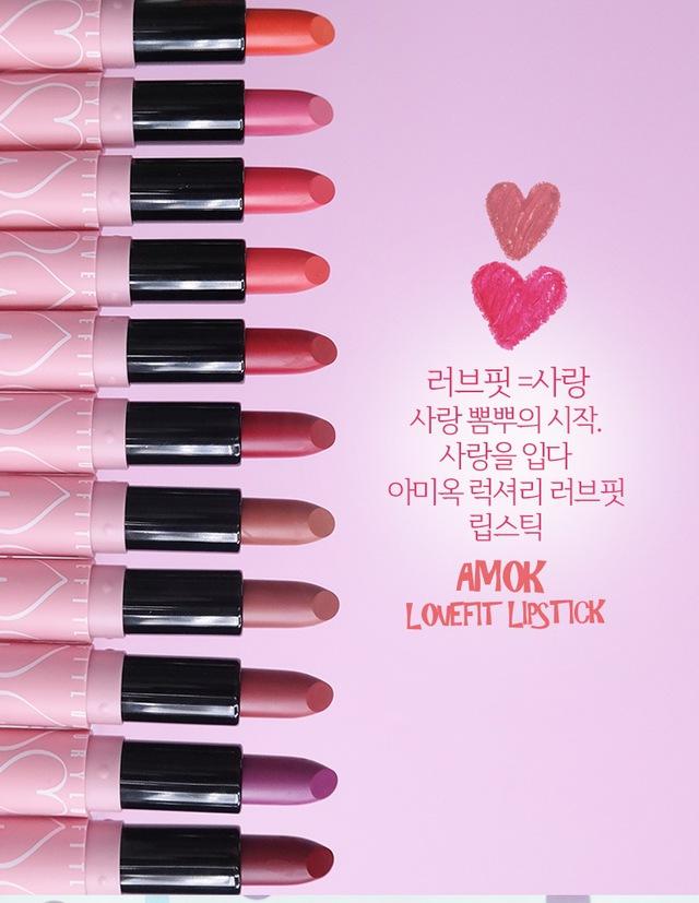 Son Amok Luxury Lovefit - Thỏi son cho hè năng động đã xuất hiện - Ảnh 8.