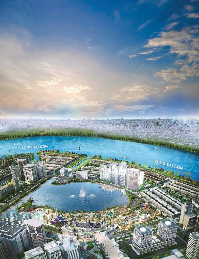 Công viên giải trí tầm cỡ quốc tế Ocean World Ho Chi Minh dự kiến khởi công trong tháng 6/2017.