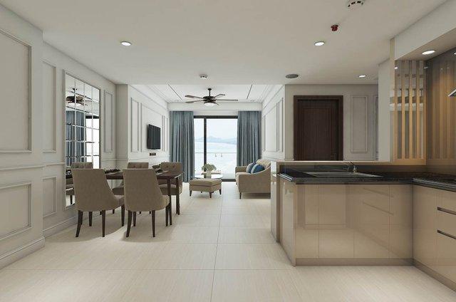 Các căn hộ của Luxury Apartment được tối đa hóa không gian cho ánh sáng tự nhiên.