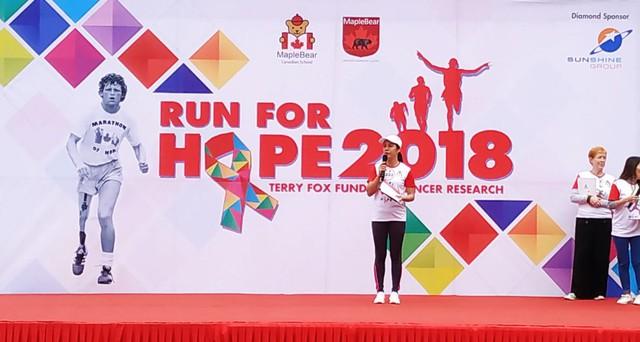 Sunshine Group đồng hành cùng Run for Hope 2018 gây quỹ vì bệnh nhân ung thư - Ảnh 1.
