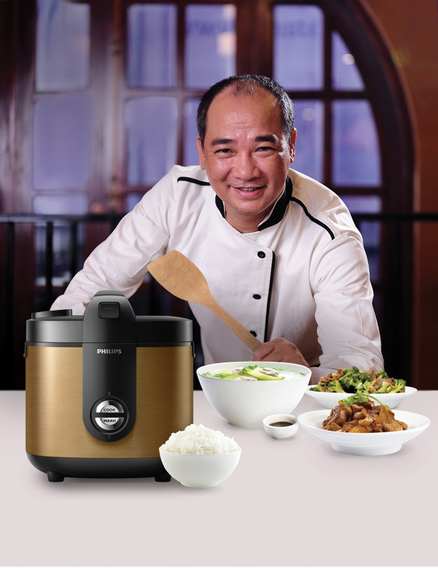 Masterchef Phạm Tuấn Hải: Nồi cơm điện quyết định đến 90% chất lượng cơm - Ảnh 1.