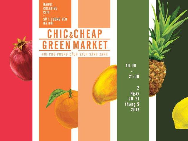 Cơ hội mua sắm cuối tuần cho cả gia đình tại Chic-Cheap Green Market - Ảnh 17.