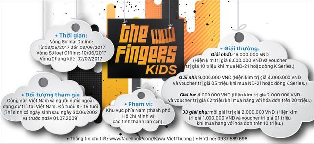 5 điều đặc biệt chỉ có tại cuộc thi tìm kiếm tài năng Piano nhí - The Fingers Kids - Ảnh 2.