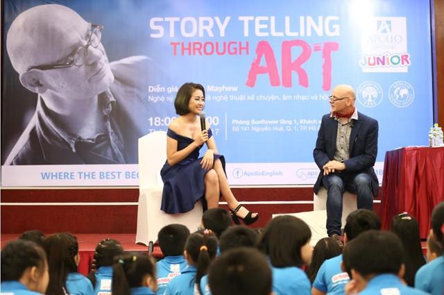 Nghệ sĩ tài ba James Mayhew và 2 ngày không thể quên tại Việt Nam - Ảnh 1.