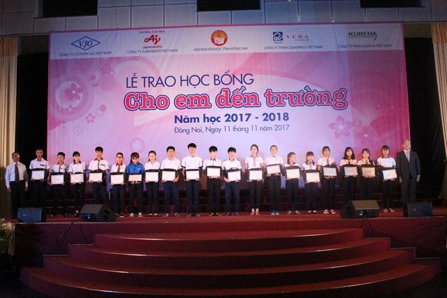 Chắp cánh ước mơ cho trẻ em nghèo hiếu học Đồng Nai - Ảnh 2.