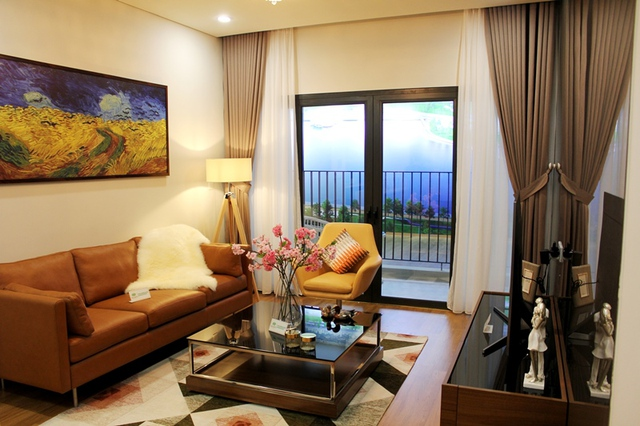 Kiệt tác căn hộ cao cấp, điểm sáng khu Tây Hà Nội
