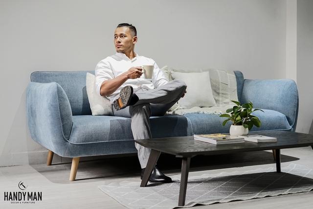 Những mẫu sofa đẹp cho ngày đông thêm ấm áp - Ảnh 3.