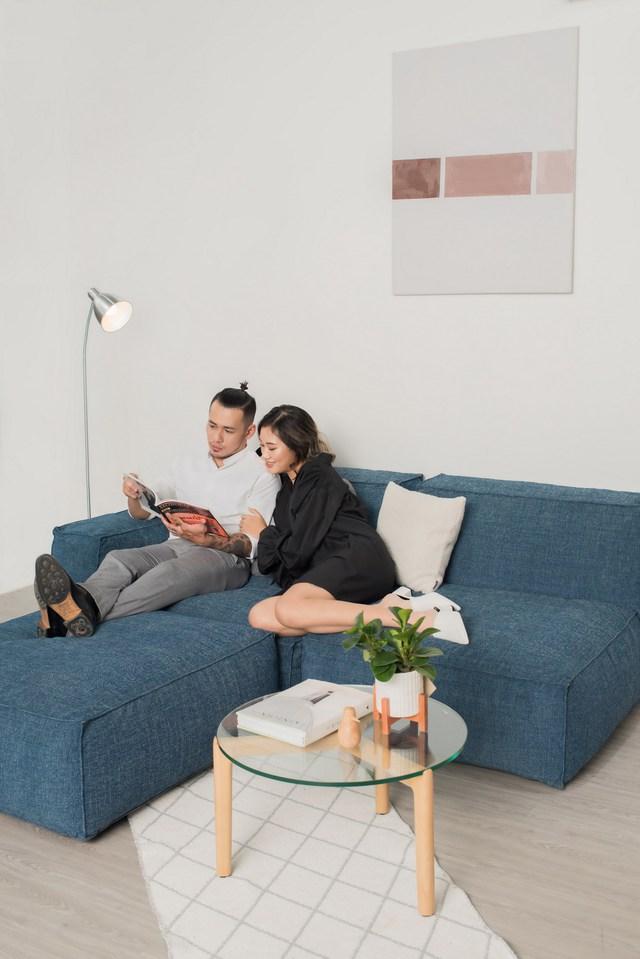 Những mẫu sofa đẹp cho ngày đông thêm ấm áp - Ảnh 6.