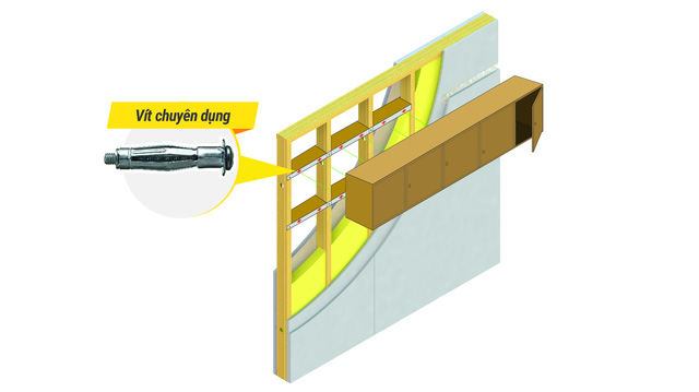 Kiến trúc sư tư vấn chọn tường thạch cao khi cơi nới nhà - Ảnh 2.