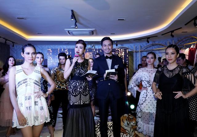 MC Phan Anh, HH Mỹ Linh dự lễ ra mắt trung tâm thời trang làm đẹp độc đáo của HH Kim Nguyễn - Ảnh 4.