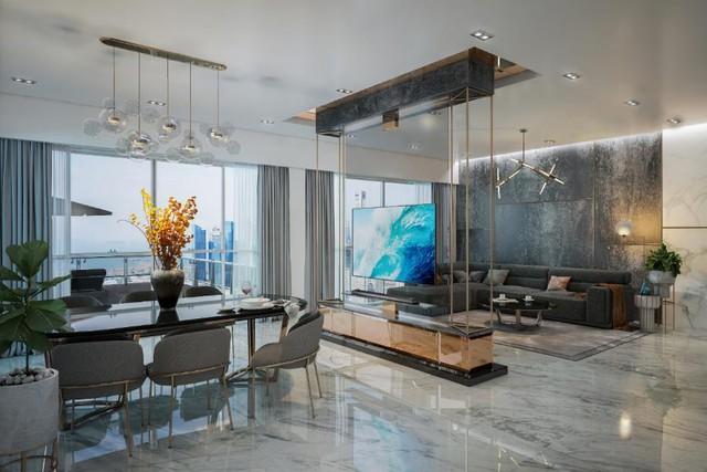 Bộ sưu tập những phong cách thiết kế nội thất phòng khách sang chảnh nhất - Ảnh 1.