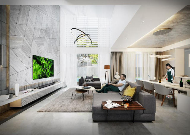 Bộ sưu tập những phong cách thiết kế nội thất phòng khách sang chảnh nhất - Ảnh 3.