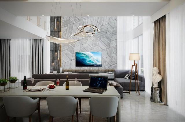 Bộ sưu tập những phong cách thiết kế nội thất phòng khách sang chảnh nhất - Ảnh 4.